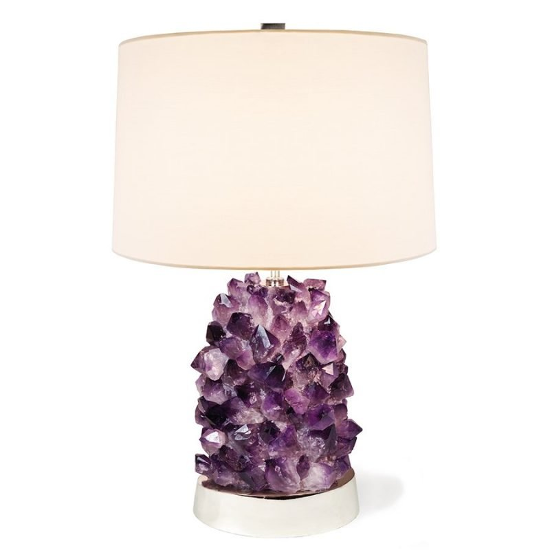 Veronica Table Lamp by Matthew Studios in Amethyst