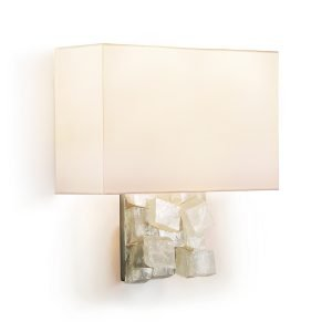 Estelle Sconce by Matthew Studios in Calcite.