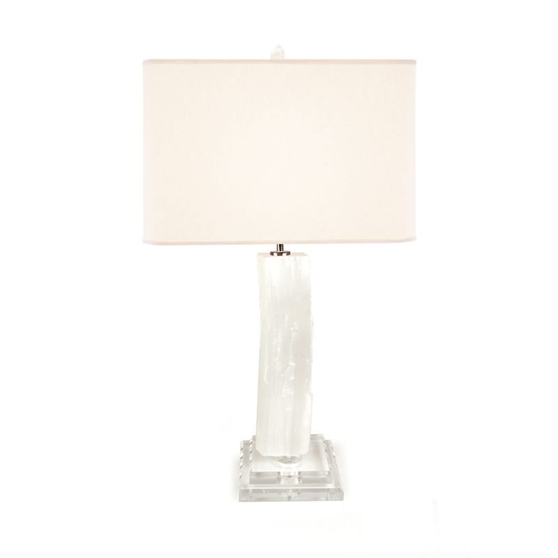 Frank Albert Table Lamp by Matthew Studios in Selenite