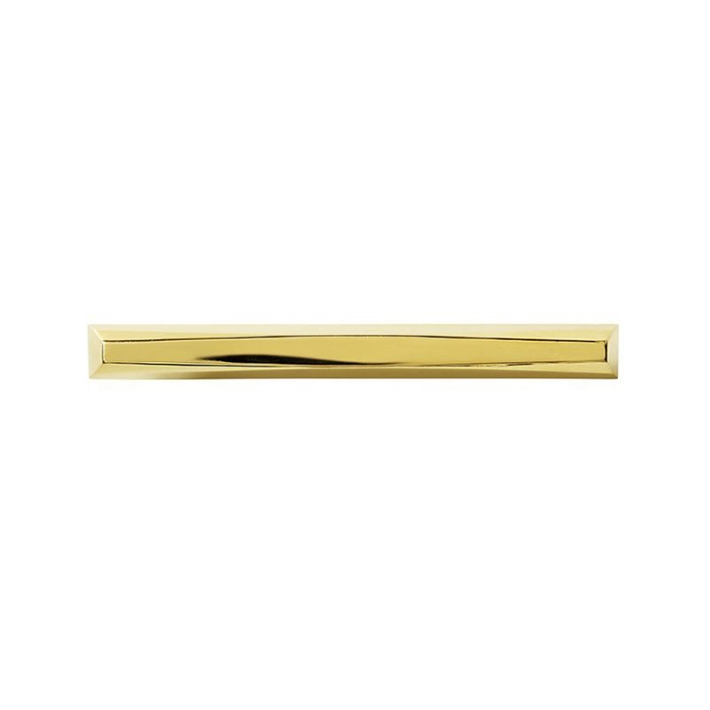 Harper Large Pull by Matthew Studios in Polished Brass