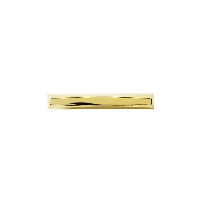 Harper Medium Pull by Matthew Studios in Polished Brass