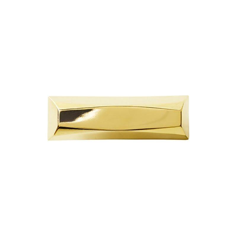 Harper Small Pull by Matthew Studios in Polished Brass