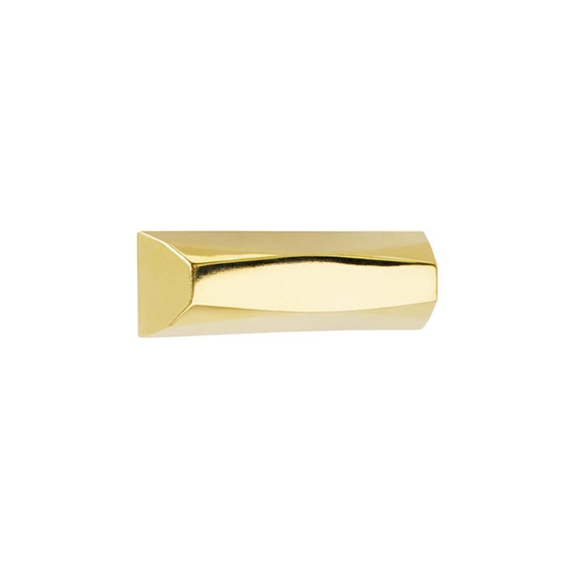Harper Small Pull by Matthew Studios in Polished Brass