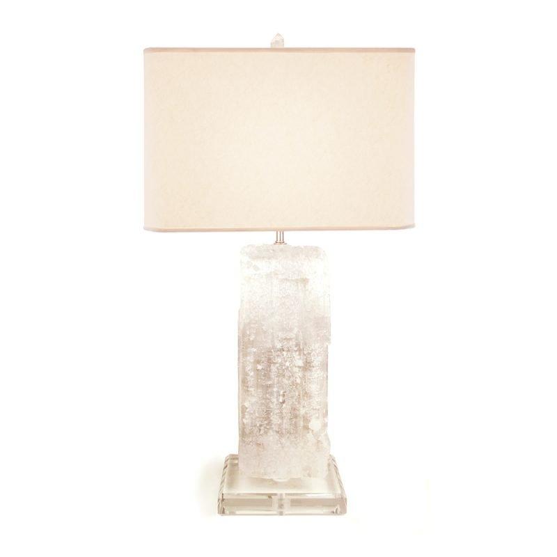 Landen Frank Table Lamp by Matthew Studios in Selenite