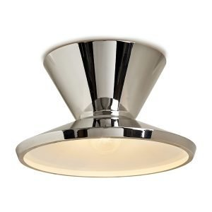Millicent Flush Mount by Matthew Studios in Polished Nickel