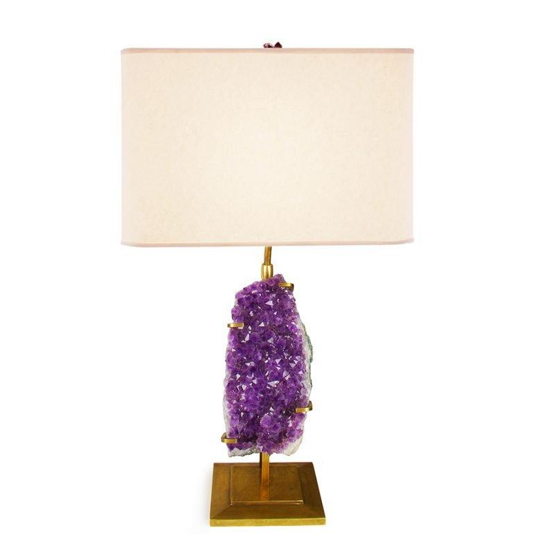 Robert Table Lamp by Matthew Studios in Amethyst